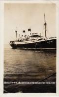 PHOTO 7X11 1936 LE SARDEGNA A PORT SAID 2356 - Bateaux