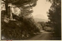 AIX EN PROVENCE CARTE PHOTO  LA MONTAGNE SAINTE VICTOIRE LA ROUTE DU THOLONET PHOTO BROUCHICAN BE - Aix En Provence