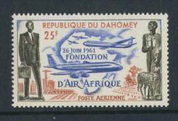 BL4-137 DAHOMEY 1962 MI 191 AIRCRAFT CARRIER AIR AFRIQUE. MNH, POSTFRIS, NEUF**. - Zomer 1964: Tokyo