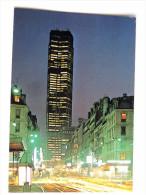 Carte Postale Ancienne : PARIS : Rue De Rennes , La Nuit - Arrondissement: 14