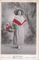 CPA Réfugiée Belge - Maraîchère Liégeoise - 1917 (0920) - Belgique