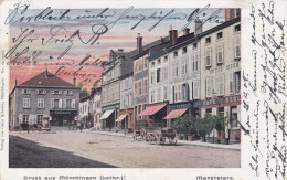 MORHANGE, Gruss Aus , S Marktplatz, Circulee - Morhange
