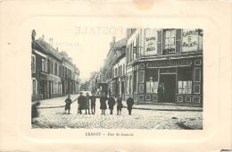VAL D'OISE 95  ERMONT  RUE DE SANNOIS  COMMERCE - Ermont
