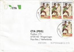 Nigeria 2003 UI Africa Games Abuja Athletics N20 Cover - Nigeria (1961-...)