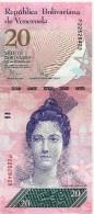 VENEZUELA 20 BOLIVARES 2007 - Venezuela