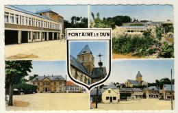 76  -  Fontaine Le Dun  -  Multi- Vues .... Année 1960 - Fontaine Le Dun