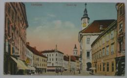 LJUBLJANA - Mestni Trg ( Slovenia ) * Travelled * Tram Tramway - Slovenia