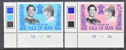 ISLE Of  MAN  198-9  **  ROYAL WEDDING  PRINCESS DIANE - Isle Of Man