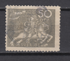 1924   YVERT  Nº 187 - Suecia