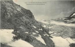 11e BATAILLON DE CHASSEURS ALPINS  DESCENTE DU COL DE RHEME GOLETTE - Alpinisme