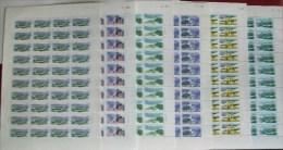 China 1996-26 Shanghai Stamps Sheets Freeway Bridge Interchange River Tower Plane Satellite National Flag - 1949 - ... People's Republic
