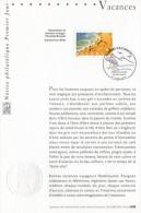 """★ Notice Officielle 1er Jour De 2001 """" VACANCES """". N° YT 3399 + Prix Dégressif ! - Documents De La Poste"""
