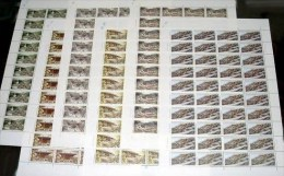 China 1997-11 Wutai Mount Stamps Sheets Buddhism Temple Relic Geology Architecture - Buddhism