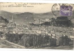 -43--LOURDES--VUE GENERALE--AFFR SUR RECTO LE 21 SEPT 1928--- - Lourdes