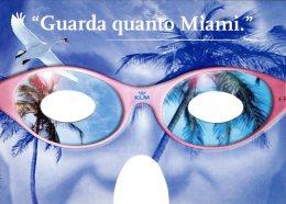 CITRUS 0655 - KLM - GUARDA QUANTO MIAMI - MIAMI DAVVERO TANTO - Pubblicitari