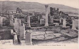 CPA Volubilis - Vue D'ensemble Et Le Grand Bassin (0941) - Meknes