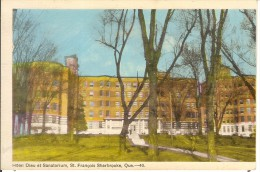 SHERBROOKE-HOTEL DIEU ET SANATORIUM SAINT FRANCOIS - Sherbrooke