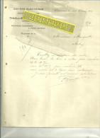45 - Loiret - CHATEAUNEUF-SUR-LOIRE- Facture THUILLIER & BLIGNY - Société électrique  – 1914 - France