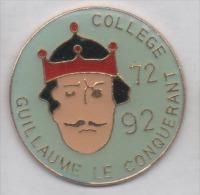 Collége Guillaume Le Conquérant , 72 92 - Villes