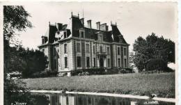 CPSM 38 VINAY LE CHATEAU DE MONT VINAY  Ou Montvinay  1956 - Vinay