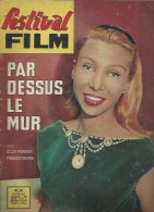 """FESTIVAL FILM  N° 14 - 1962 """" PAR DESSUS LE MUR """" Silvia MONFORT / François GUERIN / LOUIS V - Cinema"""