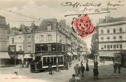 (50)   AMIENS - Place Gambetta (Tram !!) - Amiens