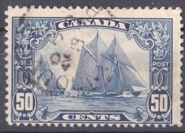 Canada 1928 Bluenose Fishing Schooner 50c Used  SG 284 Sc 158 - - 1911-1935 George V