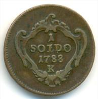 ITALY , GORIZIA ,  SOLDO 1788 K, UNCLEANED COIN - Gorizia