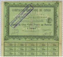 Cie Française Du Congo - Afrique