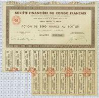 Sté Financiere Du Congo Français - Afrique