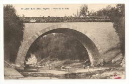Algérie. Saint Denis Du Sig. Carte Inédite. Pont De La Ville (8211) - Andere Steden