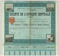 Sté De L'Afrique Centrale Limited - Afrique