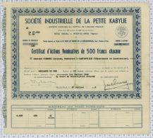 Sté Industrielle De La Petite Kabylie à Oued El Aneb En Algerie - Afrique