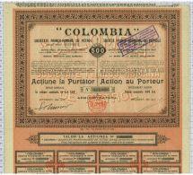 Sté Franco Roumaine De Pétrole Colombia - Petróleo