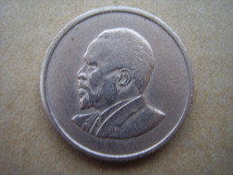 KENYA 1967  FIFTY CENTS   KENYATTA Copper-Nickel  USED COIN In GOOD CONDITION. - Kenya