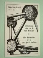 29e Salon Int. De La Carte Postale Ancienne / Oude Postkaart - Anno 11-11-89 N° 843 ( Zie Foto Voor Details ) !! - Bourses & Salons De Collections