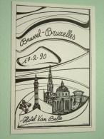 30e Salon Int. De La Carte Postale Ancienne / Oude Postkaart - Anno 17-2-90 N° 267 ( Zie Foto Voor Details ) !! - Bourses & Salons De Collections
