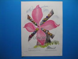 Publicité 1946 Parfums CONCRETA De MOLINARD  -  Au Verso, Armagnac CASTAGNON. Nogaro (Gers) - Advertising