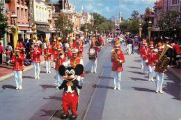 Mickey Mouse And Band Parade, Disneyland, Anaheim, California, USA Postcard  #2 - Disneyland