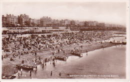 """PC Brighton  - Seafront (Looking East) - Stamp """"Colonial Month London"""" - 1949 (0955) - Brighton"""