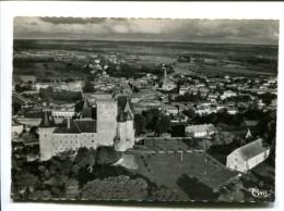 CP - LA ROCHEFOUCAULD (16) Vue Aérienne Sur Le Chateau Et La Ville - Autres Communes