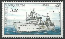 "SPM YT 550 "" Flotte ""  1991 Neuf** - St.Pedro Y Miquelon"