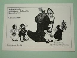 30 Internationaler Ansichtskarten Gürzenich Zu Köln 7 Dezember 1986 / Eintrittskarte DM 5 ( Zie Foto Voor Details ) !! - Bourses & Salons De Collections