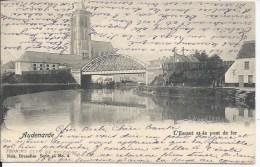 AUDENAERDE L´ESCAUT ET LE PONT DE FER  (1904)  NELS SERIE 46 N° 6 - Oudenaarde