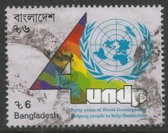 Bangladesh. 1990 40th Anniv Of United Nations Development Program. 6t Used - Bangladesh