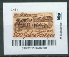 Biber Post 800 Jahre Rötgen A056 - [7] Repubblica Federale
