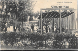 TOSCANA-PISTOIA- MONTECATINI BAGNI SORGENTE SAVI - Italia