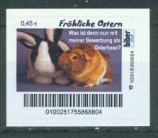 Biber Post Fröhliche Ostern (mit Meerschweinchen) A087 - [7] Repubblica Federale
