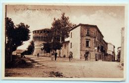 Cagli (Pesaro) - Il Torrione E Via Porta Vittoria - Italia
