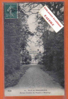 Carte Postale 59. Phalempin  Avenue Forestière Du Plouick à L'Ermitage  Trés Beau Plan - France